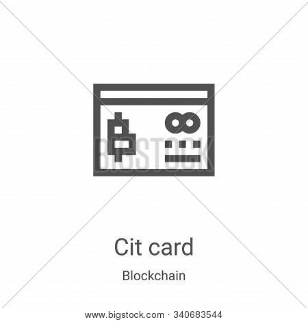 credit card icon isolated on white background from blockchain collection. credit card icon trendy an