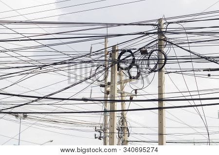 The Wires On The Electric Pole