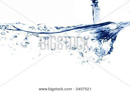 Water Stream Falling