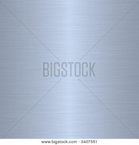 Silver Blue Brushed