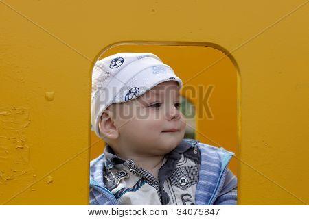 Interesting Child In Children House