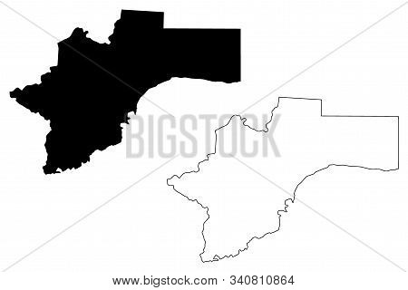 Otjozondjupa Region (regions Of Namibia, Republic Of Namibia) Map Vector Illustration, Scribble Sket