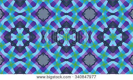 Kaleidoscope Patterns Abstract Multicolored Background. Kaleidoscope Design
