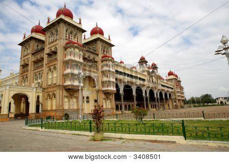 Royal Palace At Mysore. India.