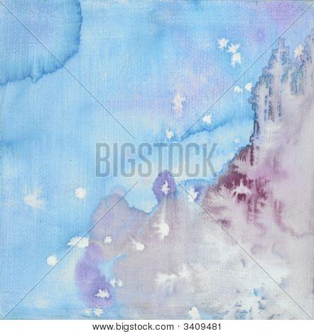 Watercolor Wash Fairytale Look