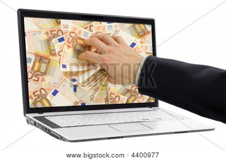 Taking Money Out Of The Screen