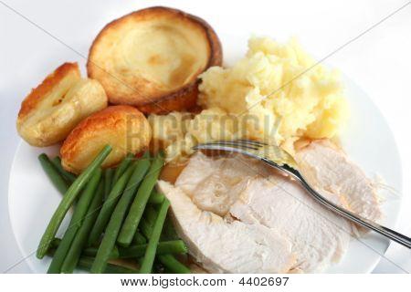 Festive Turkey Dinner