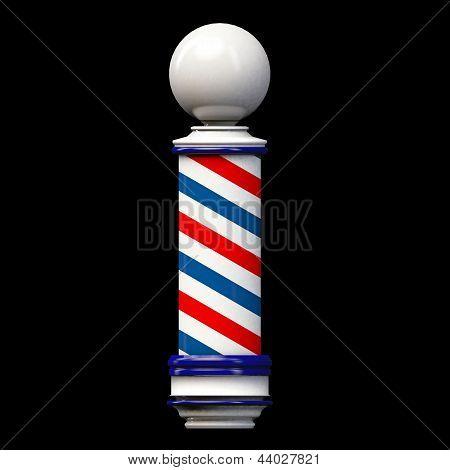 Old Barber Pole Sign