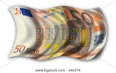 Fifty Euro Flag