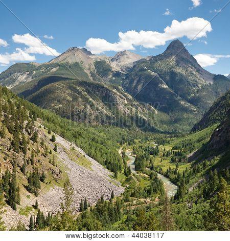 San Juan Mountains Scenery In Colorado
