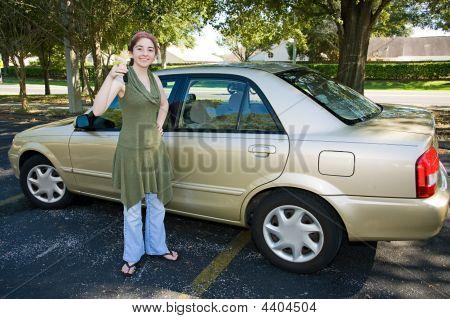 Teen's First Car