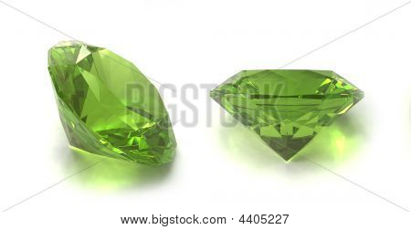 Peridot Or Chysolite Gemstone