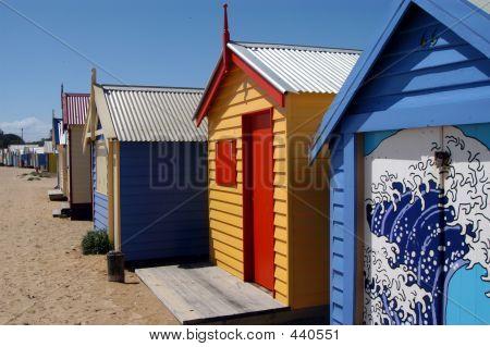 Colorful Beachhouses