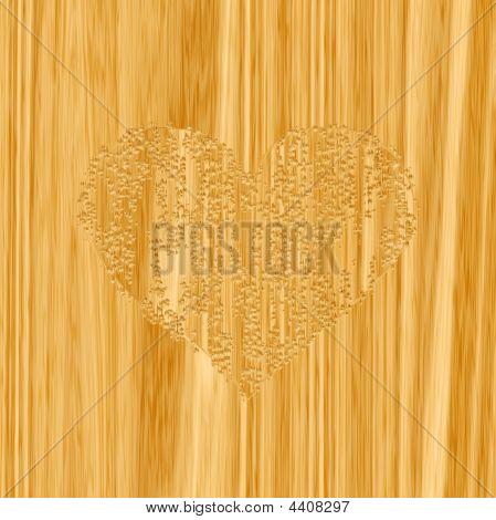 Woodcraft Heart
