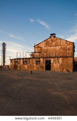 Abandoned City Santa Laura And Humberstone