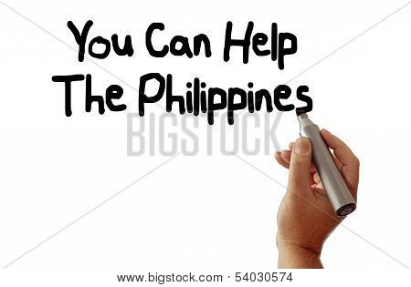 You Can Help The Philippines