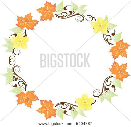 Wreath or Frame in Pastels