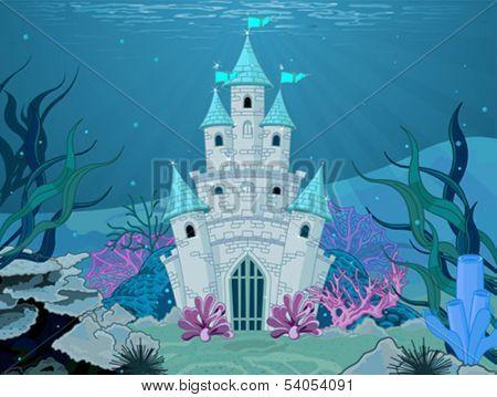 Magic Fairy Tale Mermaid Princess Castle