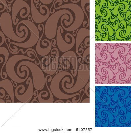 Seamless swirls pattern II