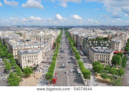 Paris. Champs Elysees