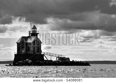 Haunted Middleground (Stratford Shoal) Lighthouse
