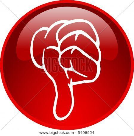 Thumb Down Button