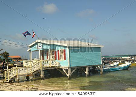 Diving Shop in San Pedro, Belize