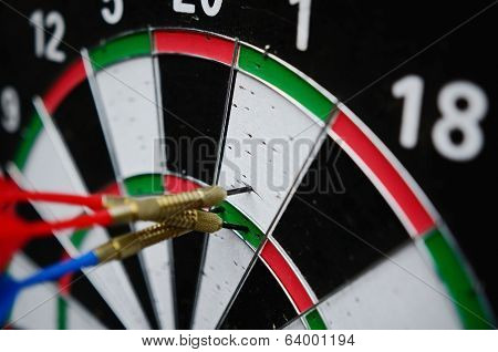 Darts Missing The Right Target