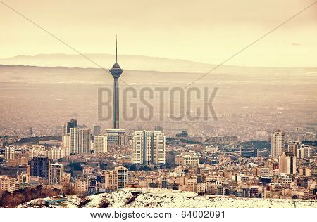 Tehran Skyline