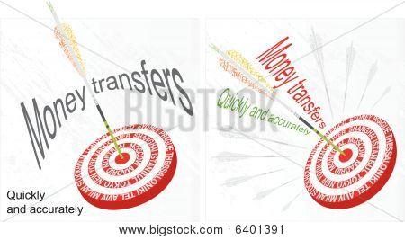 Money transfers creative design