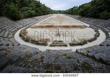 Acropolis ruins in Rodi