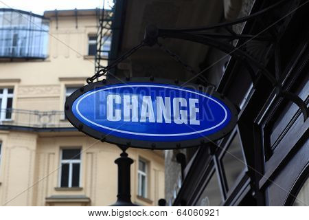 Change Signboard