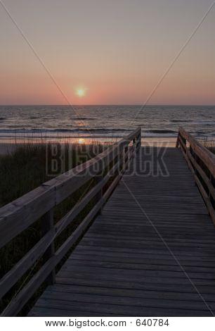Beach At Sunrise II