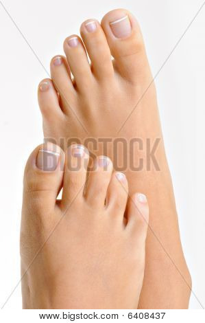 Well-groomed Female Feet