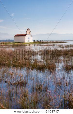Chapel At Prokopos Lake