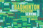Badminton Concept as a Sport Game for Recreation poster
