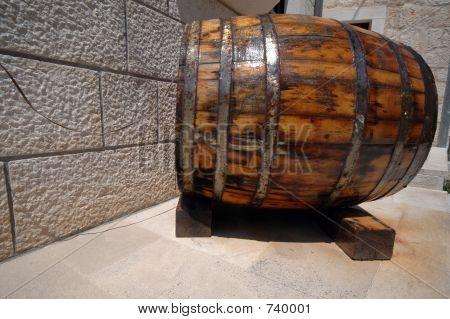 wine barrel croatia