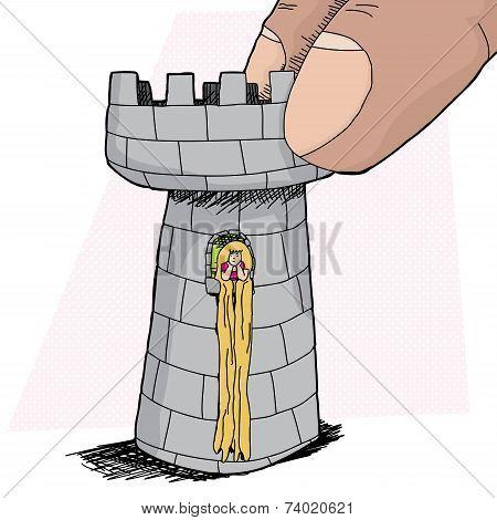 Rapunzel In Rook Piece