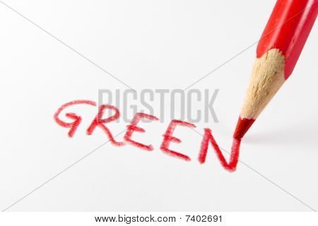 Green In Red