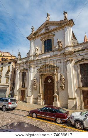 Church Santa Maria Dei Servi In Vicenza