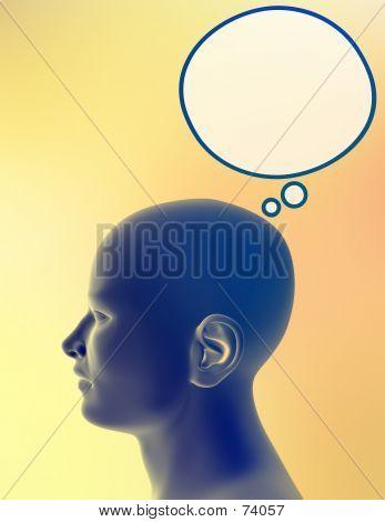 Człowiek myślący