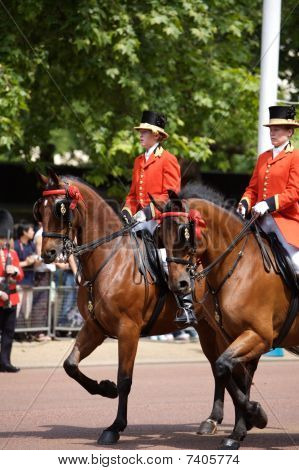 Trooping of the Colour in London, Britain 2006/06/17