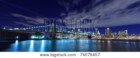 New York City panoramic view