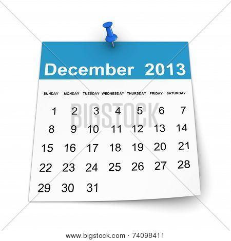 Calendar 2013 - December