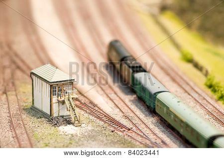 Model Signal Box
