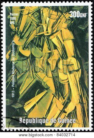 Duchamp Stamp
