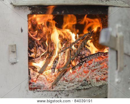 Distillation Pot Fire Chamber