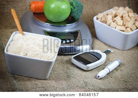 Healthy life without diabetes