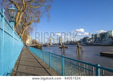 View From The Thames Path