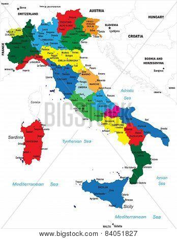 Italia map